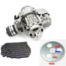 Complete 47CC 49CC 50cc 2 Stroke Engine + 44T Rear Sprocket + TF8 Drive Chain
