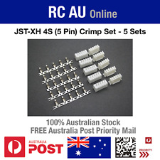 JST-XH 4S (5 Pin) Connector Crimp Set - 5 Sets - Aust Post Priority Shipping
