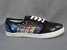 Woman's Lady Luck Casino Slot Machine Sneakers From the Bradford Exchange Sz 10