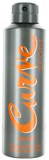 Curve Sport by Liz Claiborne For Men Deodorant Spray 6oz New