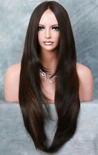 HEAT SAFE Lace Front WIG So Realistic Brown Auburn Mix Straight Hair VFJM 4-30