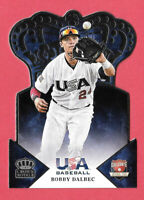 2015 Bobby Dalbec Panini USA Crown Royale Rookie - Boston Red Sox