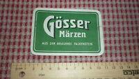 1950s AUSTRIAN BEER LABEL, BRAUEREI FALKENSTEIN LIENZ AUSTRIA, GOSSER MARZEN 1