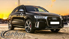 Audi SQ3/RSQ3 Style Polished Aluminium Wing Mirror Covers 'SQ3/RSQ3/S-LINE' 11+