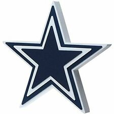 Foam Fanatics Dallas Cowboys 3D Foam Star Wall Sign, New, Free Shipping