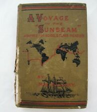 A VOYAGE IN THE SUNBEAM Adapted for School Class Reading Pub. 1880 Mrs. Brassey