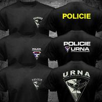 New URNA Czech Republic Tactical Police SWAT Anti Terrorist Military T shirt