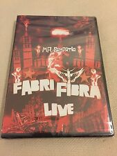Fabri Fibra Mr. Simpatia Dvd Live Sigillato No CD