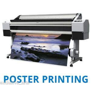 2x A1 Full Colour Poster Print / Photograph Enlargement - Printing Service