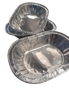Clearance Individual Oval Pie Foil 118x78x23mm 1 x box/2300 FREE DELIVERY