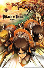 ATTACK ON TITAN - VIDEO GAME POSTER - 22x34 MANGA 13801