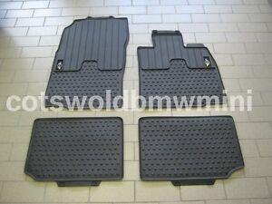 Genuine MINI R60 R61 Countryman Paceman Tailored Rubber Car Mats 51472181809 810