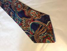 Mens Blue Brown Red SILK Tie Necktie SWING~ FREE US SHIP (9553)