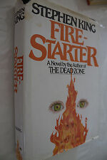 Fire Starter by Stephen King 1980 HC 1st Ed