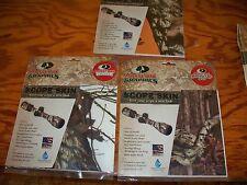 GUN SCOPE Mossy Oak Camo Kit BLAZE ORANGE BREAK UP CAMO DEER BEAR HUNTING