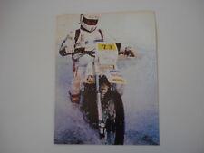 advertising Pubblicità 1983 MOTO CAGIVA ALA ROSSA 350