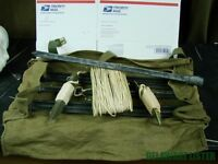 *Military Helicopter Blade or Radio Antenna Guy Wires or Tie Downs w/Bag