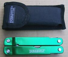 Durabuilt Model 2CR 11 Blade/Tool Multi-Tool w/Pliers & Case - NICE