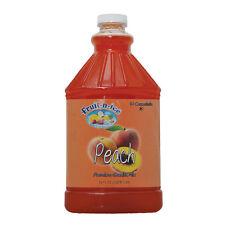 Fruit-N-Ice - Granita Frozen Drink Mix Peach 64oz