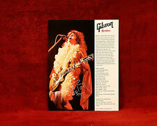 Marc Bolan Gibson Les Paul Promo Photo
