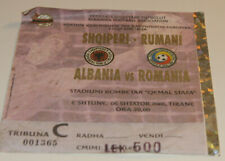 Ticket for collectors EURO q * Albania - Romania 2006 in Tirana