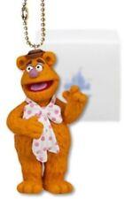 "Disney Muppets Fozzie 4"" PVC Figure Ball Key Chain Dangler Figurine Action Toy"