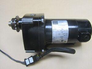 Bodine 24A2BEPM-D3 Parallel Shaft DC Gearmotor 130VDC, 1/29HP, 18:1 Ratio 139RPM