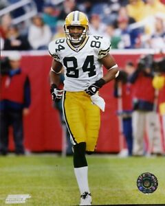 JAVON WALKER 2002 Green Bay Packers 8X10 ACTION PHOTO #2