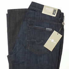 7 SEVEN FOR ALL MANKIND Womens Jeans 30 / 34 Mid Rise BOOT CUT NWT NEW