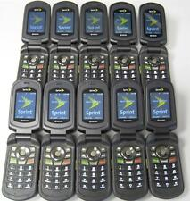10pc Lot Kyocera DuraXT E4277 Cell Phones SPRINT Good ESN Wholesale Available