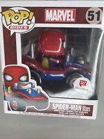 Funko Pop Rides Marvel Spiderman Mobile #51 Exclusive Walgreens