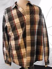 Timberland Large Men's Plaid Button down Shirt