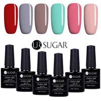 6 Bottles UV Gel Nail Polish Set 7.5ML Soak Off Gel Nails Manicure UR Sugar Kit