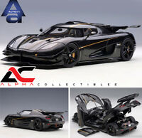 PREORDER AUTOART 79019 1:18 KOENIGSEGG ONE:1 (CLEAR CARBON FIBER/GOLD STRIPES)