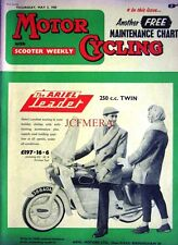 May 5 1960 ARIEL 'Leader 250cc Twin' Motor Cycle ADVERT - Magazine Cover Print
