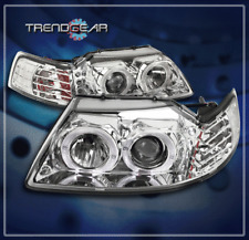 1999-2004 FORD MUSTANG HALO LED PROJECTOR HEADLIGHT 2000 2001 2002 2003 GT COBRA