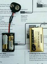 EMG 24 Volt senza saldatura PICKUP ATTIVI MOD per 60 - 81-85 e 89 & Dragonfire