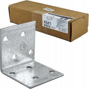 Corner Braces Brackets Right Angle L shape Steel Brace Bracket KM1 40x40x40x2mm