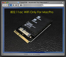 Genuine Apple WiFi 802.11ac Upgrade Kit Adapter For All Mac Pro 1,1 - 5,1 *10.15