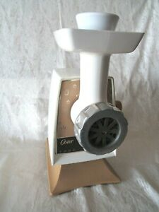 Oster 996 Heavy-Duty Food Grinder - Electric Meat Grinder, fully functional