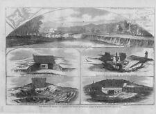 Guerre Civile Canonnières Attaque Fort Hindman Chez Arkansas Envoie Casemate