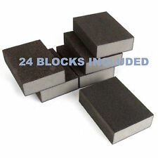 Sanding Blocks Wet & Dry Foam Backed Pads Sand Paper Grit Sanding*