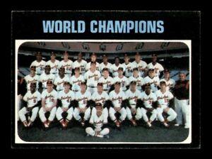 1971 Topps Set Break # 1 World Champions Orioles EX-MINT *OBGcards*