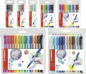 STABILO pointMAX Nylon Tip Writing Pen Wallets of 4 / 8 / 12 / 15 / 24 Available
