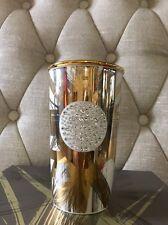 Starbucks Ceramic Tumbler 2014 Christmas 30th anniv W/ Swarovski Crystals