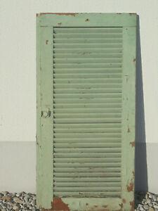 alter Lamellenladen Klappladen  Fensterladen Garderobe Pinwand  Schranktüre
