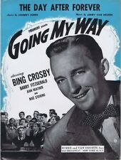 """The Day After Forever, Going My Way, """"Bing"""" 1944 vintage movie music, 2nd Offere"""