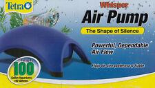 BRAND NEW!  TETRA WHISPER 100 GALLON AQUARIUM AIR PUMP - SUPER FAST USA SHIPPING
