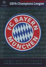 U15  FC BAYERN MUNCHEN CLUB BADGE CARD CHAMPIONS LEAGUE ADRENALYN 2013 PANINI