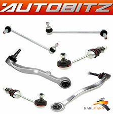 FITS BMW E61 E60 5 SERIES FRONT LOWER TRACK CONTROL ARMS & STABILISER LINK BARS